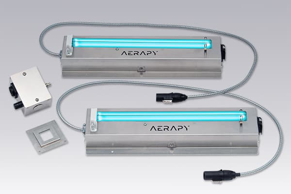 Aerapy's in-duct UV light for HVAC, the PPR Series
