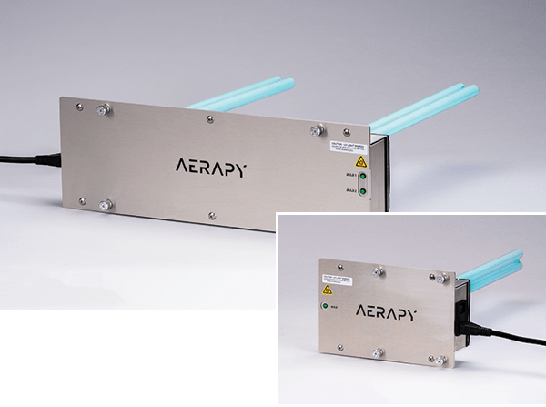 Aerapy's in-duct UV light for HVAC, the PAH Series